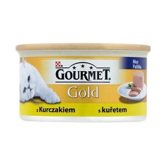 GOURMET GOLD - Mus z drobiem 85g