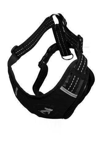 ALL FOR DOGS Sportowe Szelki Czarne XS