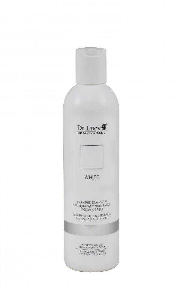DR LUCY Szampon pogłębiający biały kolor sierści [WHITE] 250 ml