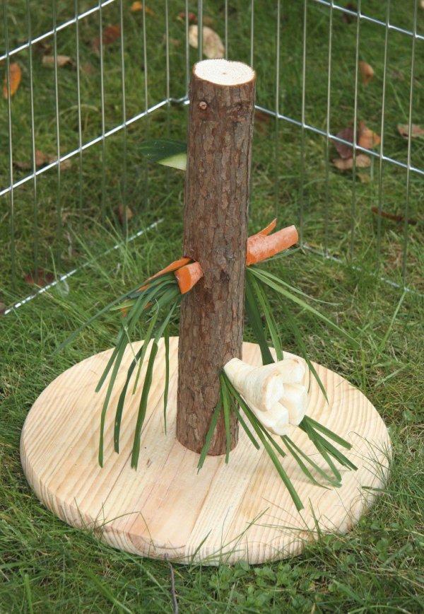 KERBL Karmnik pionowy Nature, 30 cm [84408]