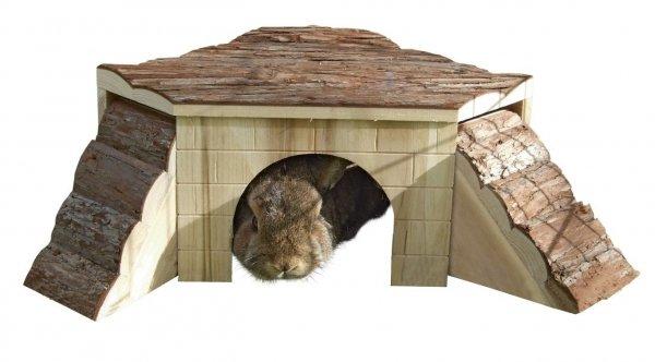 KERBL Domek dla gryzoni, 37 x 37 x 16cm [82771]