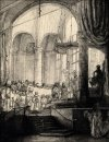 Medea, or the Marriage of Jason and Creusa, Rembrandt - plakat
