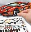 Duża kolorowanka Lamborghini Aventador
