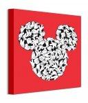 Myszka Miki Hands - obraz na płótnie