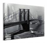 Brooklyn Bridge, New York 1946 - obraz na płótnie