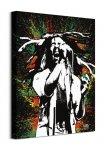 Bob Marley Paint - obraz na płótnie
