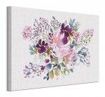 Watercolour Floral III - obraz na płótnie
