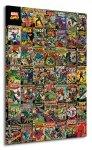 Marvel Comics (Comic Covers) - Obraz na płótnie