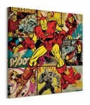 Marvel comics (Iron Man) - Obraz na płótnie