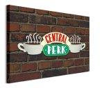 Przyjaciele Friends Central Perk Brick - obraz na płótnie