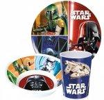 Zestaw naczyń obiadowy Star Wars Gwiezdne Wojny