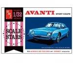 Model plastikowy - Samochód 1963 Studebaker Avanti - AMT