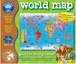 Puzzle Mapa Świata i Plakat