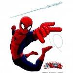 Duża Naklejka SpiderMan