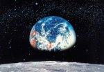 Tapeta Ziemia - Księżyc