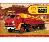 Model plastikowy - ciężarówka Dodge L700 with Shell Tanker - Lindberg