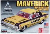 Model Plastikowy Do Sklejania Lindberg (USA) - 1964 Dodge Maverick