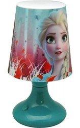 Lampka nocna Disney Frozen biurkowa Kraina Lodu LED