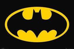 Batman Klasyczne Logo - plakat