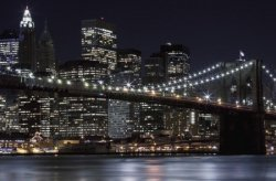 Brooklyn Bridge, New York - fototapeta