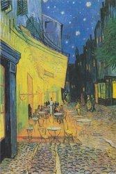 Vincent Van Gogh - Terrasse de Café - plakat