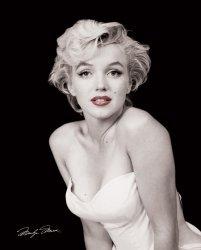 Marilyn Monroe Red Lips - plakat