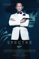 James Bond Spectre - Daniel Craig - plakat