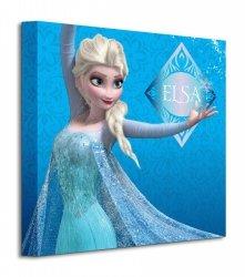 Frozen Elsa Blue - Obraz na płótnie
