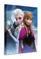 Frozen - Obraz na płótnie
