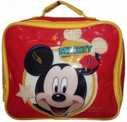 Mickey Mouse Czerwony Lunch Box Dla Dzieci termiczna lodówka do szkoły, przedszkola na wycieczki Disney