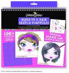 Szkicownik Make Up & Hair