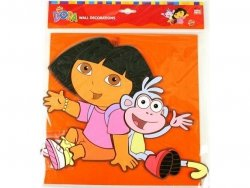 Naklejka piankowa Dora z Butkiem