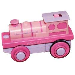Różowa lokomotywa na baterie