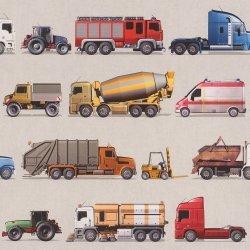 Tapeta Pojazdy samochody Ciężarówki 293906 Kids&Teens II