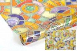 Statyczna folia okienna Witraż 45x150 Mozaika