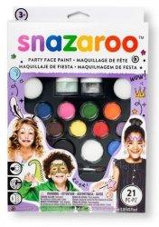 SNAZAROO Zestaw do malowania twarzy PARTY Farby