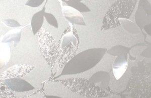 Statyczna folia okienna 45x150 Fantazyjne liście
