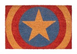 Marvel Kapitan Ameryka Tarcza - wycieraczka