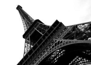 Paryż. Wieża Eiffel - fototapeta