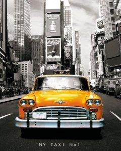 Nowy Jork Taxi no 1 - plakat