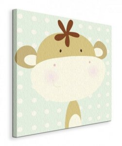 Mini Monkey  - Obraz na płótnie