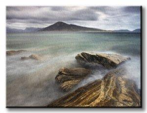 Harris from Taransay, Outer Hebrides - Obraz na płótnie