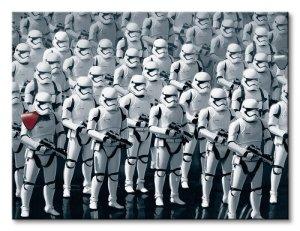 Gwiezdne Wojny Star Wars Episode VII (Stormtrooper Army) - obraz na płótnie