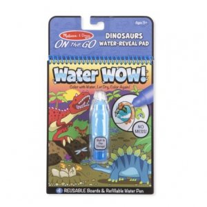 Kolorowanka Wodna Water Wow Dinozaury Malowanka Melissa 19315