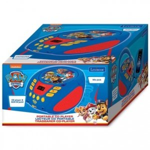 Boombox PAW Psi Patrol odtwarzacz CD AUX MIC JACK