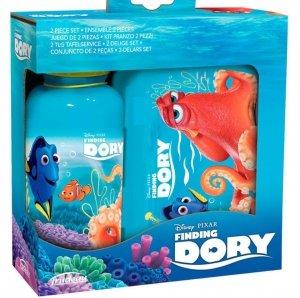 Zestaw Bidon Śniadaniówka Lunch Box Gdzie Jest Dory - Nemo