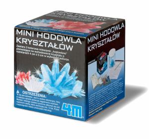 Mini Hodowla kryształów CRYSTAL COMBO 4M Naukowa zabawa Zrób to sam