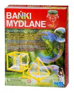 Zestaw Kreatywny Bańki Mydlane 4M