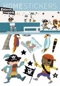 Naklejki Walczący Piraci i Okręt Piratów