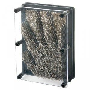 Pin Art 3D 12x 17cm metalowa tablica szpilkowa